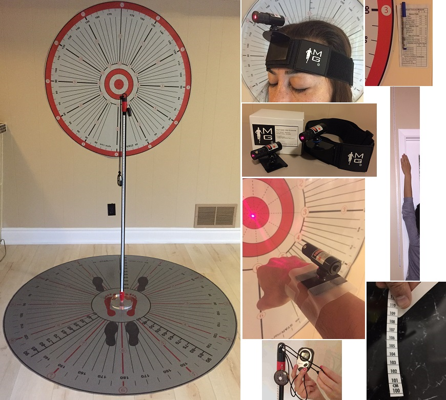 STARmat Full Package (Incl. wall target and laser set)